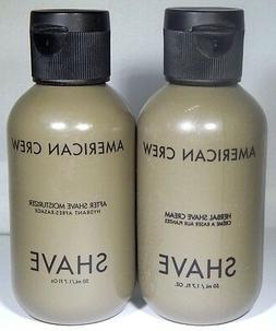 American Crew Herbal SHAVE Cream AND  After Shave Moisturiz