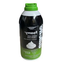 1 Gillette Lemon Lime Shave Foam Shaving Cream - 11oz Foamy