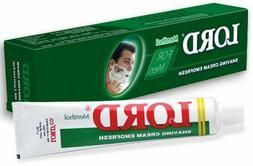 1 Pack Lord Emofresh Menthol Shaving Cream -  55 gm