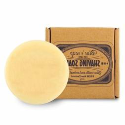 100g Shaving Soap Goat Milk 3.5OZ For Barber Traditional Wet