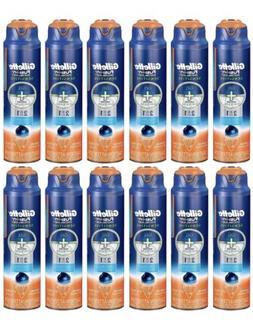 12-PACK New Gillette Fusion ProGlide Sensitive Shave Gel 6 o