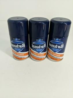 15 Barbasol Shave Cream Sensitive Skin Travel size 2.85 Oz E