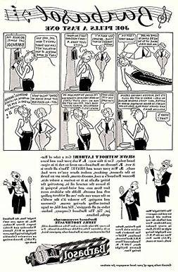 1932 Barbasol Shaving Cream: Joe Pulls a Fast One, Barbasol