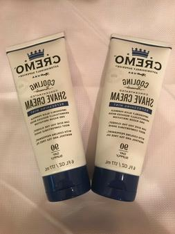 2PK Cremo Cooling Shave Cream, Astonishingly Superior Smooth