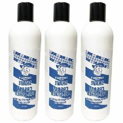 3 Pack Campbell's Pre-Mixed Shave Cream 12oz