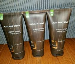 3 Every Man Jack Shave Shaving Cream for Sensitive Skin, 6.7