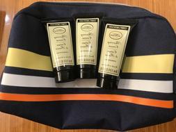 3 The Art Of Shaving Shaving Cream Unscented 30 ml + 1 bag