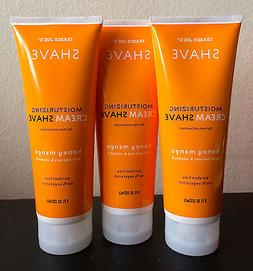3 Tubes Trader Joe's Honey Mango Moisturizing Cream Shave Al