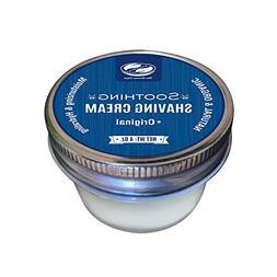4 Oz Organic shea butter shaving cream, naturally moisturizi