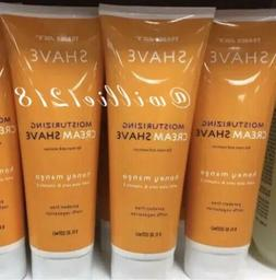 4 Tubes Trader Joe's Honey Mango Moisturizing Cream Shave w/