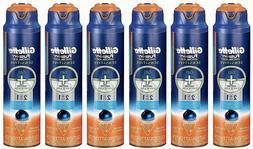 6-PACK of Gillette Fusion ProGlide Sensitive Shave Gel 6 oz