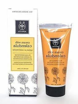 APIVITA Natural Calendula  CREAM AFTER SHAVE FACE & BODY BAB