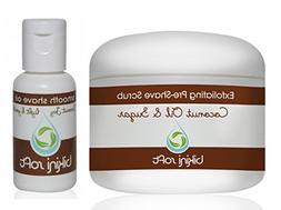 BIKINI SOFT Coconut Oil & Sugar Perfect Shave Set  - Organic