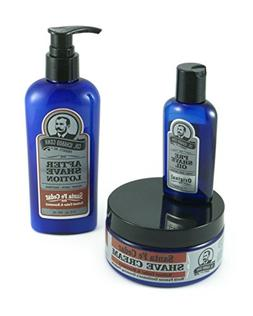 Colonel Conk 3 Piece All Natural Shaving Kit - Includes Sant