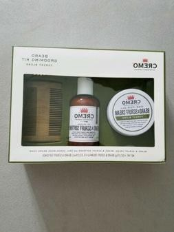 Cremo Beard Grooming Gift Set with Forest Blend Cream, Softe