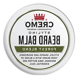 Cremo Styling Beard Balm, Forest Blend - Nourishes, Shapes a