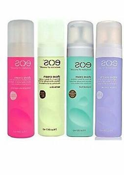 EOS Ultra Moisturizing Shave Cream, Pack of Four Flavours