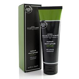Edwin Jagger Aloe Vera Natural Premium Shaving Cream in Trav