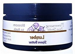 Flowersong Lumber Shave Butter - Aloe and Exotic Butters for