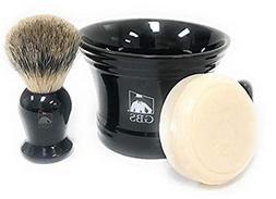 GBS Men's Classic Shaving Set - For Ultimate Old School Wet