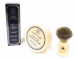 GBS Mens Grooming Set - Brush, Shave Cream Bowl & After Shav