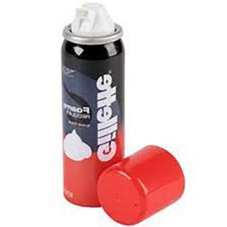 Gillette Foaming Regular Scent Travel Size Shaving Cream 2 o