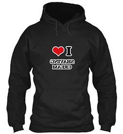 I Love Shaving Cream 5XL - Black Sweatshirt - Gildan 8oz Hea