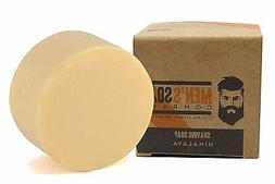 Men's Soap Company Coconut Oil & Shea Butter Shave Soap for