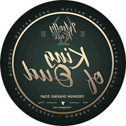 WhollyKaw Donkey Milk Shaving Soap, King of Oud