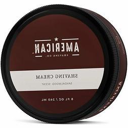 American Shaving Shaving Cream For Men  - Sandalwood Barbers