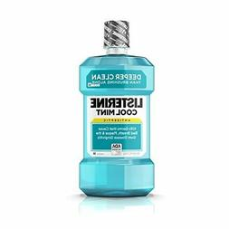 Listerine Antiseptic Mouthwash, Cool Mint, 1.5 L