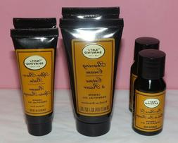 6 x ART of SHAVING ~ PRE-SHAVE OIL, BALM, CREAM ~ Lemon Esse