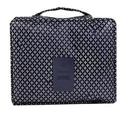 Travel Makeup Cosmetic Bag Multi-function Cosmetic Case ,Wat