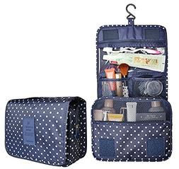 Cosmetic Bag Portable Makeup Pouch Waterproof Travel Hanging