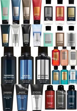 Bath & Body Works Men's~Shave Gel~Lotion~Cream~Aftershave Ba