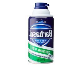 Barbasol Beard Buster Shaving Cream Soothing Aloe 10 Oz Free