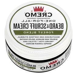 Cremo Beard & Scruff Cream, Improved Forest Blend Fragrance,