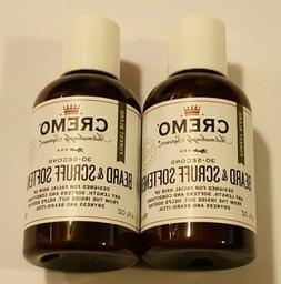 Cremo Beard & Scruff Softener, Forest Blend -- 30 Second Bea