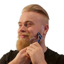 Mens Beard Shaping Tool - Best For Shaving Razor Sharp Beard