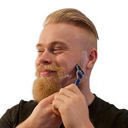 Mens Beard Shaping Tool - Best For Shaving Razor Sharp Beard