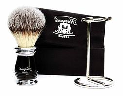 Black Handle Men's Shaving Brush .Four Different Types Of Pu