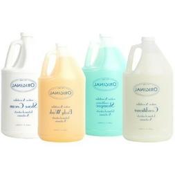 Body Wash, Shampoo, Conditioner & Shave Cream - 1 gallon of