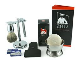 Men's Chrome Grooming Set With, Our Most Advanced De Razor S