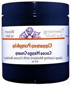 Flowersong Cinnamon Pumpkin Cocoa Mango Body Cream - Deep La