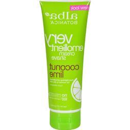 Alba Botanica – Coconut Lime Moisturizing Shave Cream For