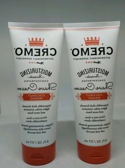 Cremo Coconut Mango Moisturizing Shave Cream, Superior  6 oz