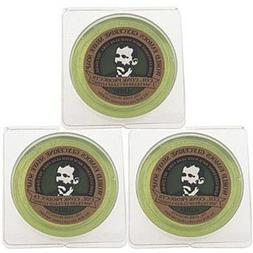 Col. Conk World's Famous Shaving Soap, Lime -- 3 Pack -- Eac