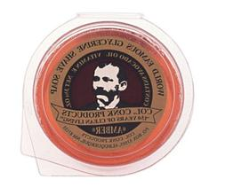 Colonel Ichabod Conk AMBER Super Bar Shave Soap 3-3/4 oz - E