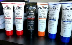 Cremo Concentrated Shave Cream Variety Set Of Six 4oz. Tubes