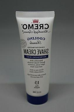 Cremo Cooling Shave Cream - Refreshing Mint - 1.5 fl oz - Ne
